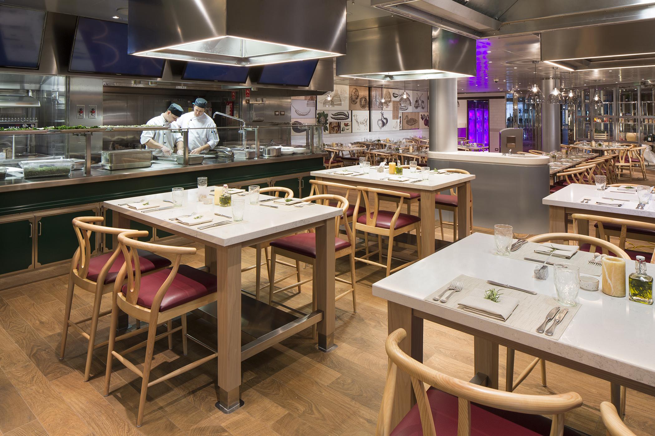 Culinary Art Center - Deck 3 Aft Starboard Koningsdam - Holland America Line