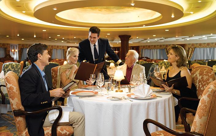 cruises voor voedselliefhebbers grand dining room