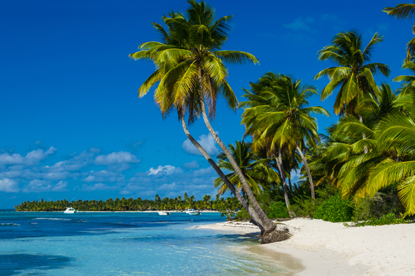 Hagelwit strand op Aruba, Nederlandse Antillen, Caribbean